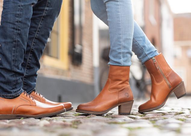 Travelin' London Leder Chukka Boots Business Schuhe mit